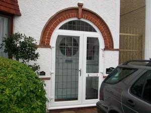 Glazed Door & Porch Supplied & Installed by GHI Windows of Weybridge Surrey