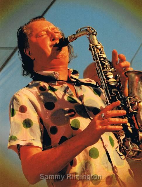 Jazz Saxaphone - Sammy Rimington's Intl. Jazz Band