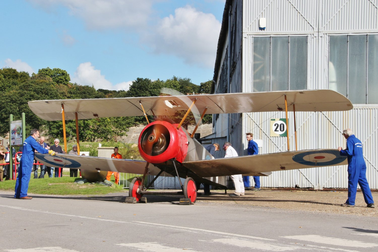 Join us on Sunday as we commemorate Brooklands' role in the Great War - WW1 Centenary