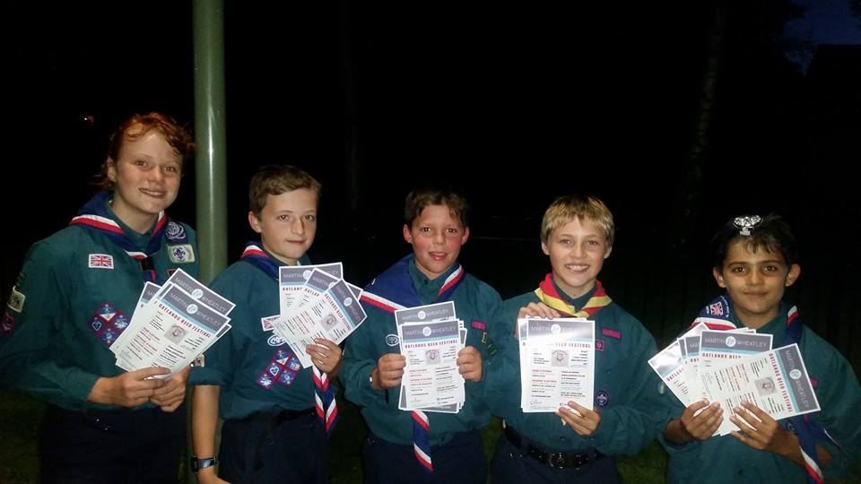 Oatfest Beer Festival is organised by Oatlands Weybridge Scouts as a fundraiser for the Troop