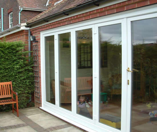 Double Glazed Patio Doors Supplied & Fitted by GHI Windows of Weybridge Surrey