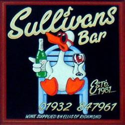 Sullivans Wine Bar Weybridge Surrey