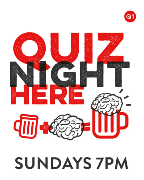 Quiz Nigth at Alexander Pub Oatlands Village near Walton on Thames