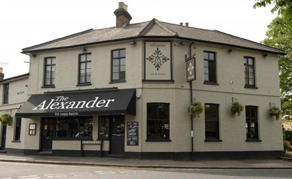 Alexander Pub Oatlands Village near Weybridge & Walton on Thames