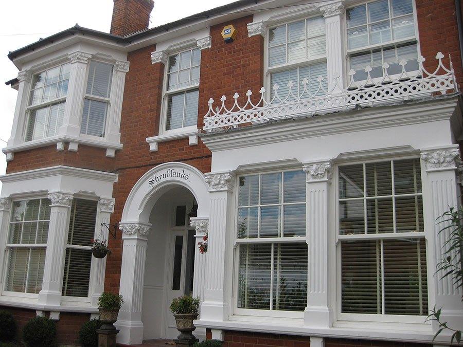 Double Glazed PVCu - Heritage Vertical Sliding Windows installed by GHI Weybridge, Elmbridge ,Surrey
