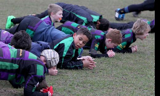 Weybridge Vandals Rugby Club - Junior Rugby Training