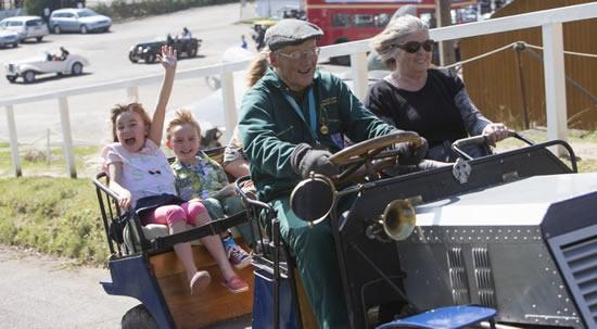 Car Rides for Kids & Families at Brooklands Museum Weybridge Surrey