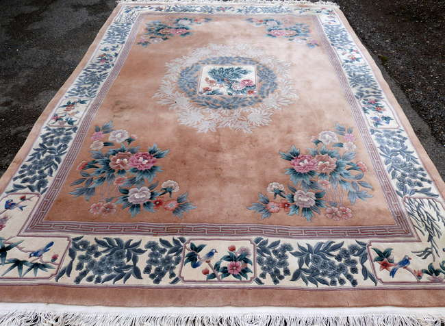 Chinese Carpet - Antiques Auction in Woking Surrey