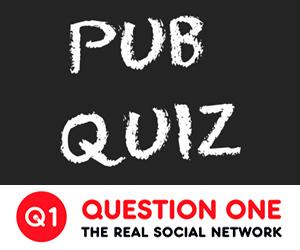 Q1 Pub Quiz at Alexandra Pub Oatlands Weybridge Surrey