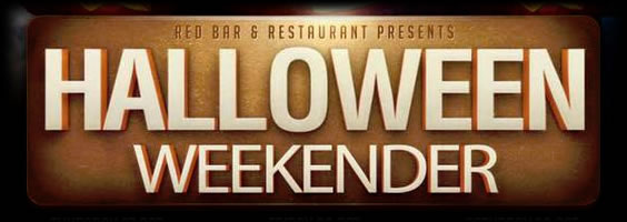 Haloween Weekend DJs & Party at Red Bar Weybridge Surrey
