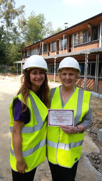 Midnight Walk Award - Sponsorship Superstar - Woking & Sam Beare Weybridge Hospices