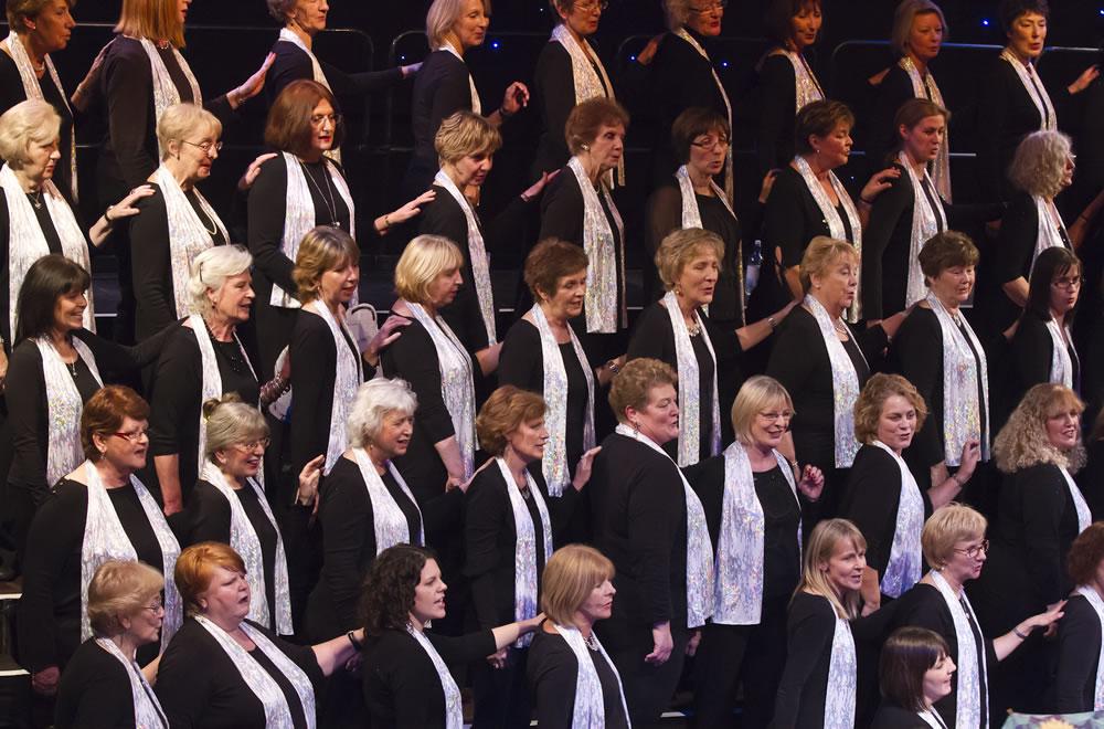 Elmbridge Ladies Choir in Concert - WIll be singing at Addlestone Community Centre Runnymede