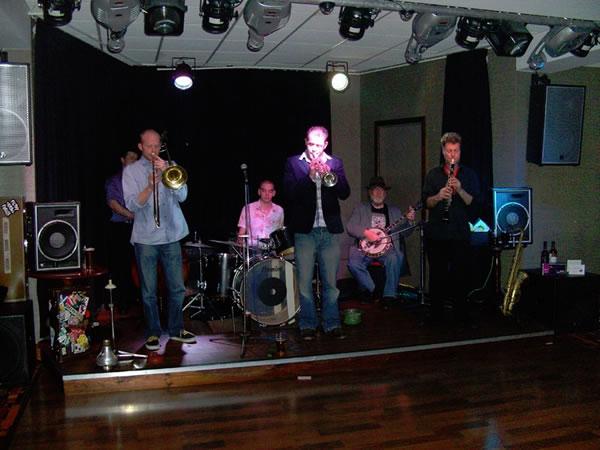Baby Jools & the Jazzaholics will be playing at Winning Post Twickenham