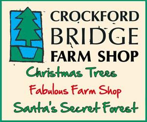 Christmas Trees, Santa's Secret Forest & Christmas Gifts at Addlestone Surrey Farm Shop