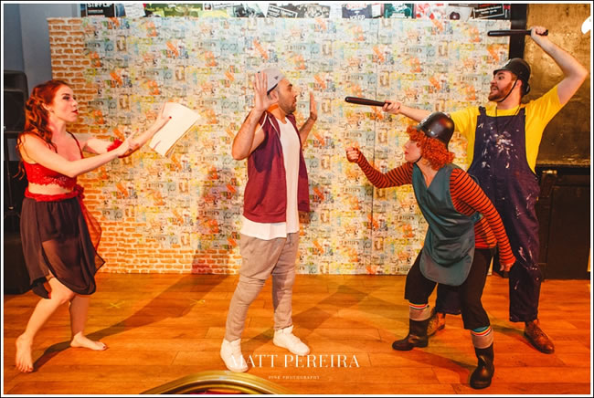 Adult Panto in Surrey - Comedy by Guildford Fringe Theatre - Aladdin