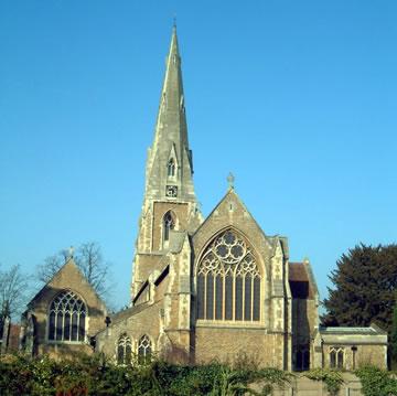 St James' Parish Church (Anglican) Weybridge Surrey