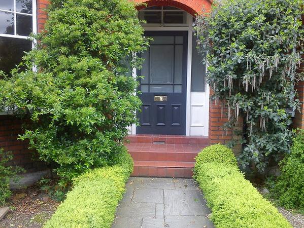Front Door & Paving - Wimbledon House Extension by Weybridge Surrey Builders