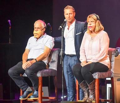 Ventrilaquist Fun - Comedy & Singing at Bobby Davro Comedy Gala at New Victoria Theatre Woking Surrey
