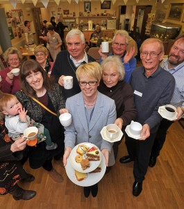 Your coffee morning could be held at school, a club, your workplace or anywhere that a group of friends can meet up!