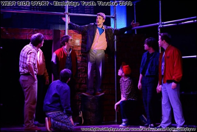 Here are some photos of an earlier production of West Side Story by Elmbridge Youth Theatre - returning to Cecil Hepworth Playhouse Walton on Thames Surrey