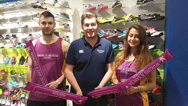 Partner charity for the Asics 10K Run is the fantastic Woking and Sam Beare Hospices