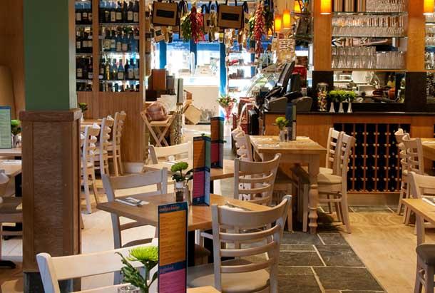 Valentina Italian Restaurant Weybridge Surrey is restaurant is open for breakfast, lunch and dinner