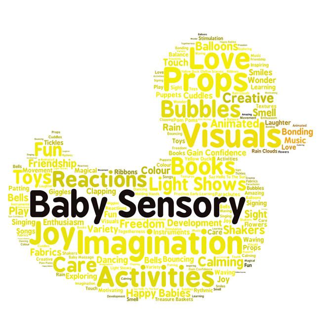 Baby Sensory Classes in Oatlands Weybridge - Bubbles, Imagination, Toys, Activities, Fun