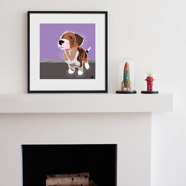 Gifts - Prints of Dog Portrait Commission Paintings by Weybridge Artist Katie Bell