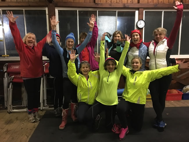 Night Rowing! - Fun at Weybridge Ladies Amateur Rowing Club WLARC Surrey