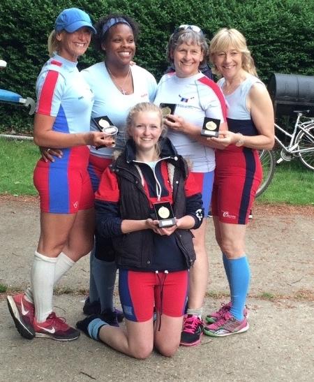 Race Success after Regatta at Weybridge Ladies Amateur Rowing Club Elmbridge