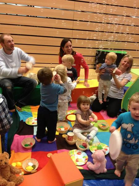 Birthday Parties for Babies & Toddlers in Weybridge Surrey