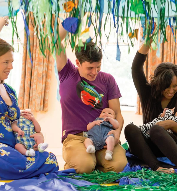 Early learning classes for babies & toddlers. Pre-school classes in Oatlands Weybridge, Staines & Ottershaw