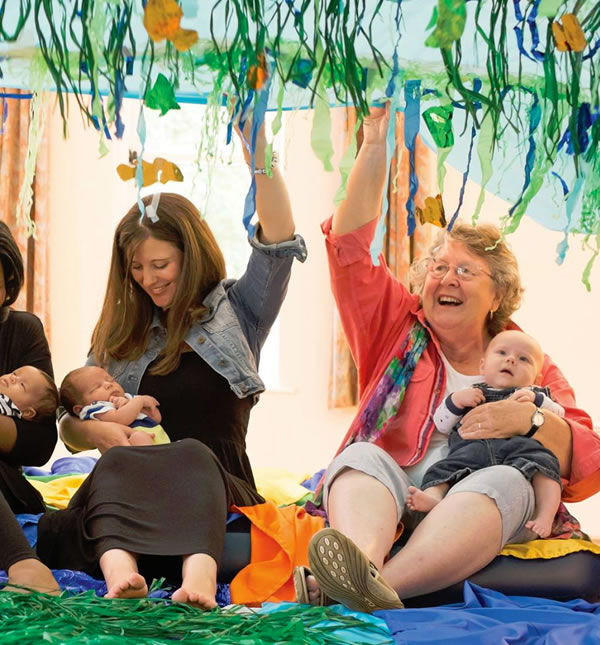 Baby Play & Sensory Classes in St. Mary's Oatlands, Weybridge, Egham Hythe, Staines and Riverside Arts Centre, Sunbury on Thames