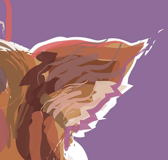 Dog Portraits - Contemporary Paintings by Katie Bell - Weybridge Elmbridge Surrey Artist
