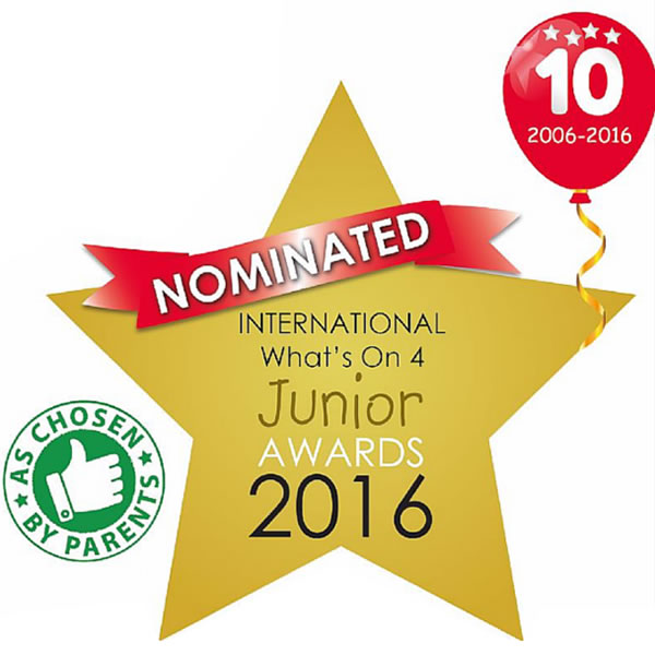 Early Learning Classes For Babies - Award Nomination As Chosen by Parents