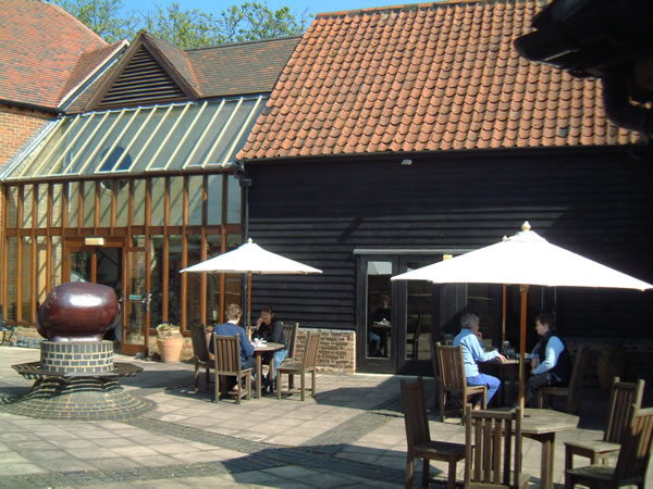 Coffee at Riverhouse Gallery Studio & Barn - Arts Centre in Walton on Thames Elmbridge Surrey