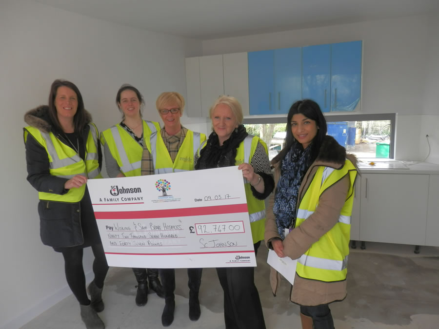 SC Johnson Funds Family Pod At New Woking & Sam Beare Hospice  Building