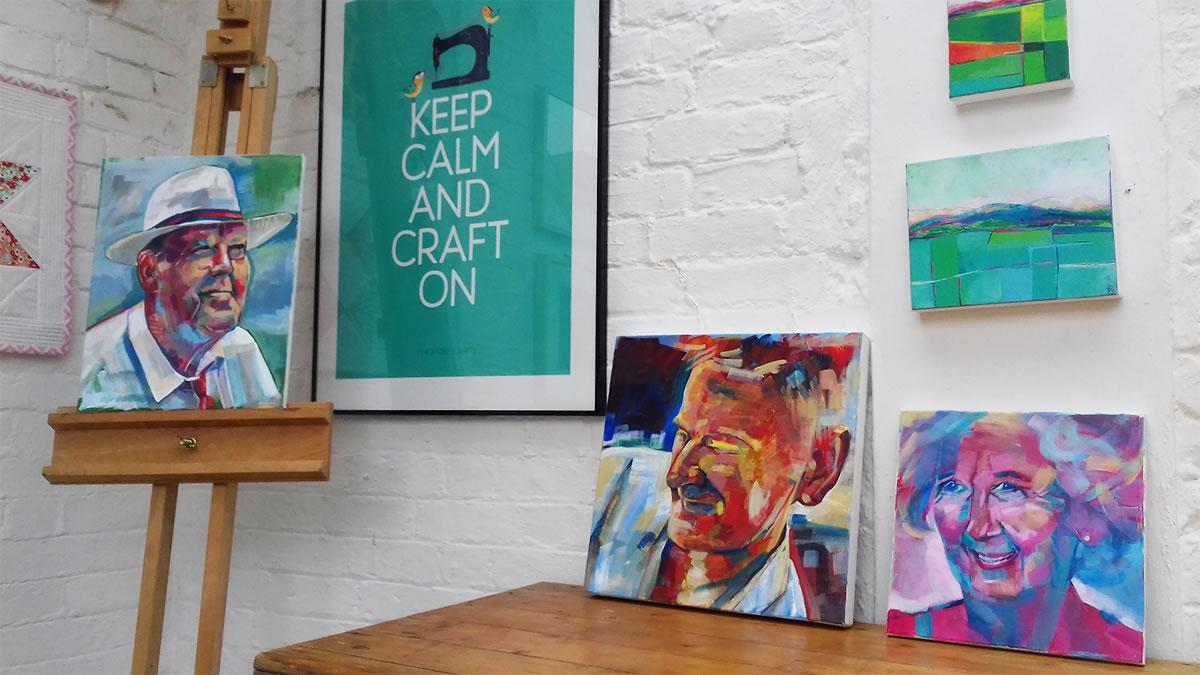 Weybridge Surrey Art Studio - Katie Bell