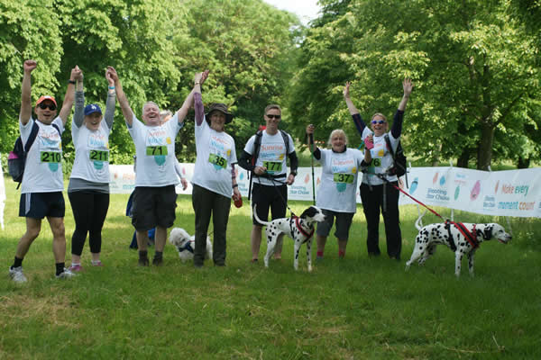 Sunrise Walk at Ham House Richmond - Shooting Star Chase Hospices Supporting bereaved families Childrens Hospices Fundraiser