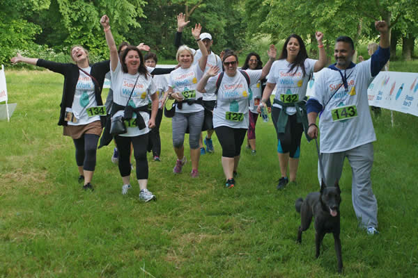 Dog Walkers Welcome at Sunrise Walk at Ham House Richmond