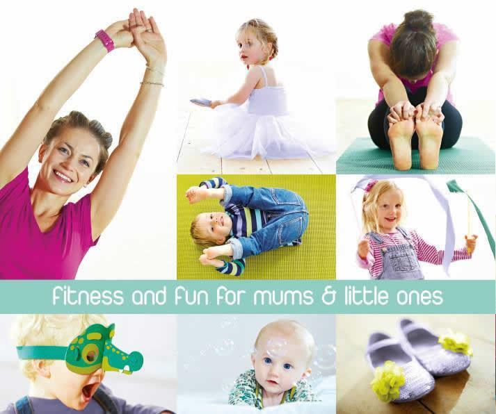 Fitness & Fun - Toddlers & Mums BusyLizzy Family Club Cobham, Weybridge & Walton On Thames Surrey