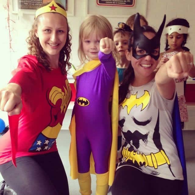 Summer Holidays Fun For Young Kids in Weybridge - Superhero & Fairies Creative Dance & Drama Workshop