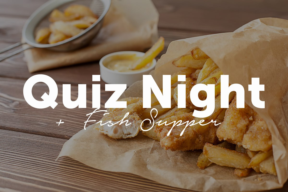 Quiz Night + Fish & Chip Supper in Weybridge Surrey - Fundraising for Cancer, A Need For Change Charity