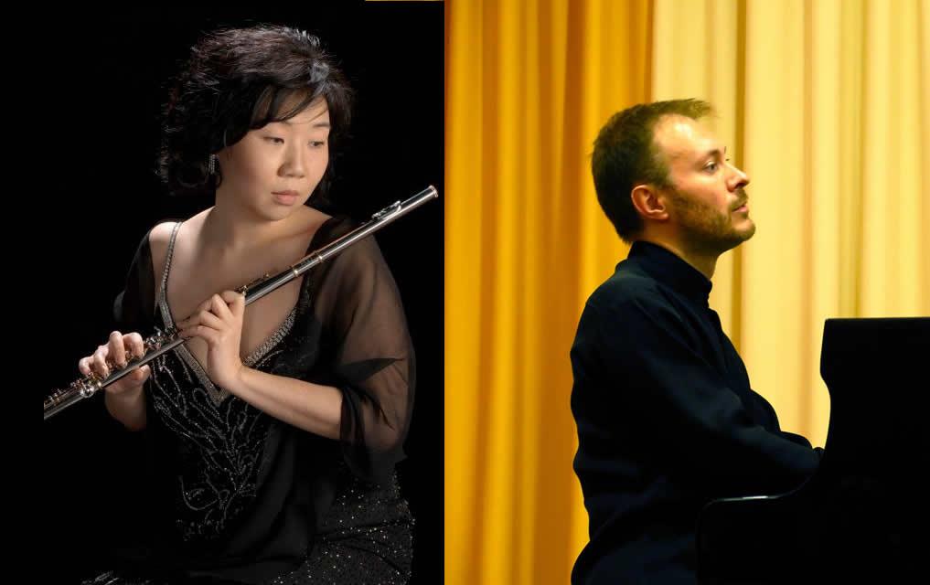 Music on The Green Esher Concert - Mihi Kim Flute & Mikhail Shilyaev Piano