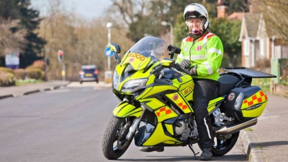 Volunteering Opportunity & Charity to Support - Serv SSL Blood Bikers - The volunteer motorcyclists who help the NHS