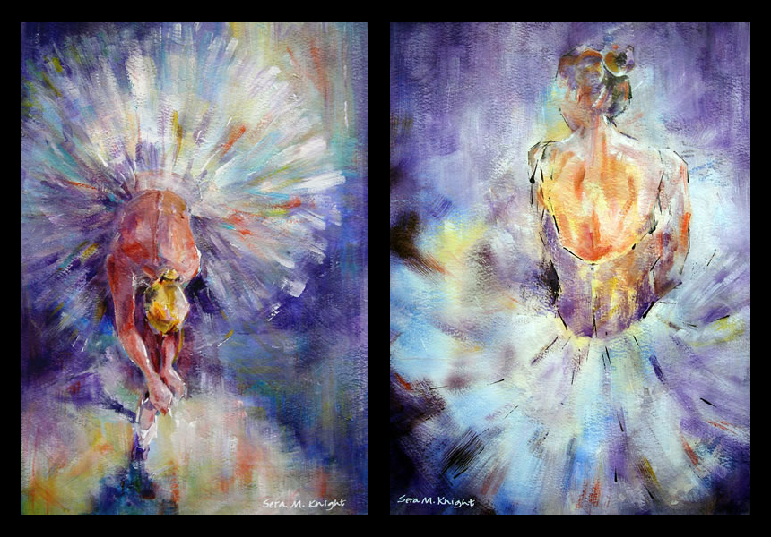 Ballet & Dance Art - Paintings by Woking Surrey Artist Sera Knight from Horsell