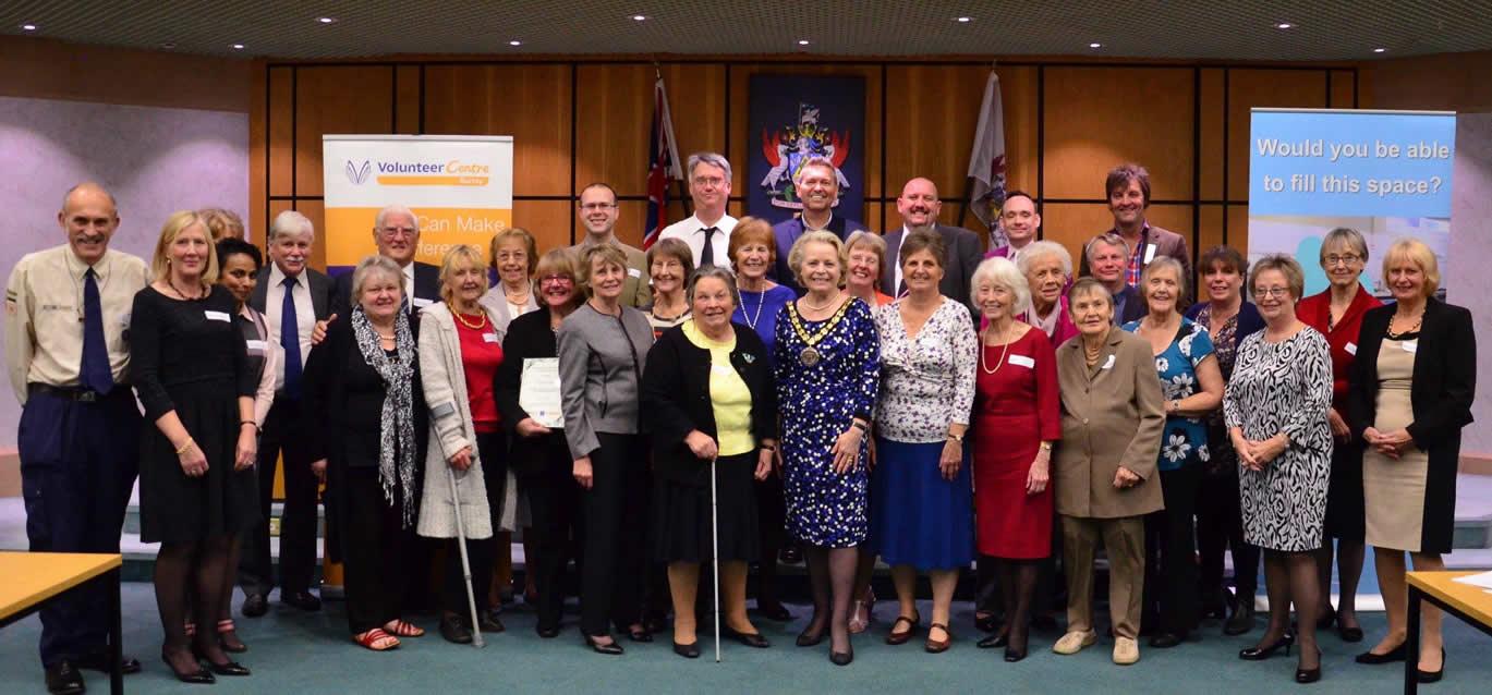 Volunteer Centre Elmbridge and Elmbridge Borough Council - Awards Ceremony for the Elmbridge Long Service Volunteer Awards