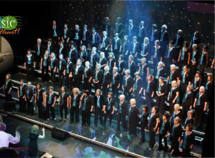 Elmbridge Ladies Choir Cobham singing in Concert at New Victoria Theatre Woking Surrey