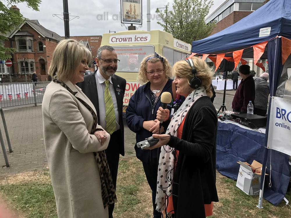 Jill Bennett Interviews Ruth Langsford & other judges at the first Great Weybridge Cake Off