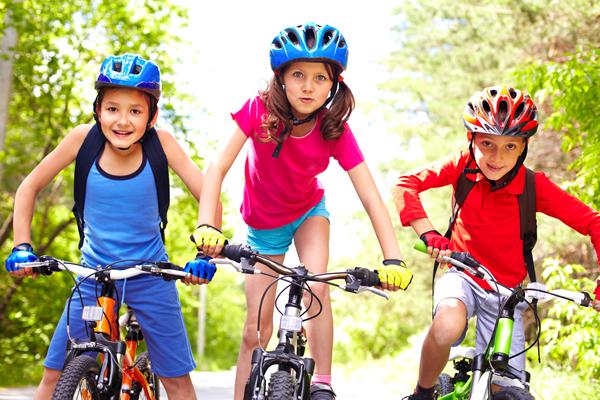 Kids at Elmbridge Eagles Bike Club - Training Covering Mountain Biking, Road Cycling & BMX For Children